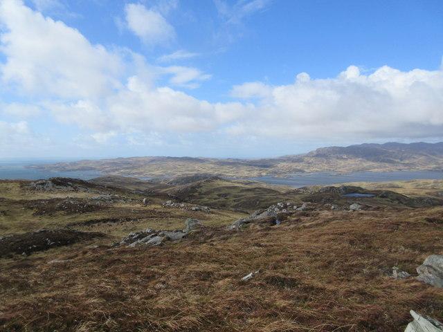 View from Cnoc Mor nan Cnoc