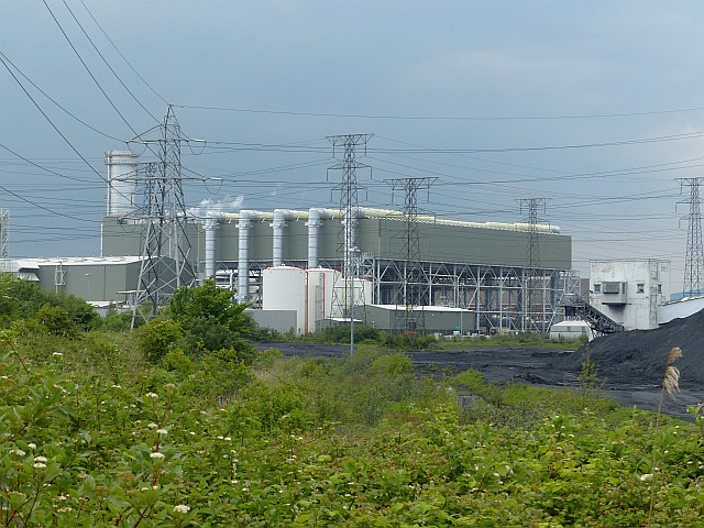 Uskmouth gas-fired power station