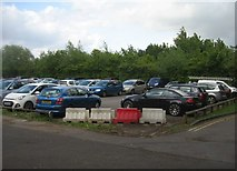 SU6351 : Visitors car park - Queen Mary College by Sandy B