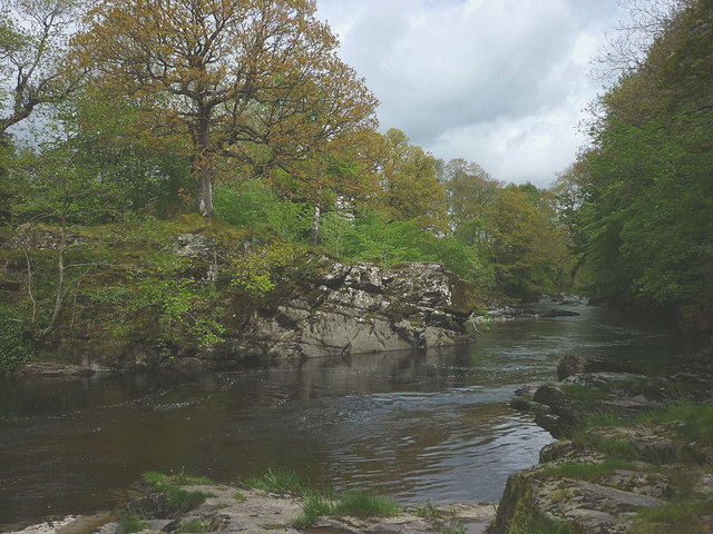 The River Lune above Killington New Bridge