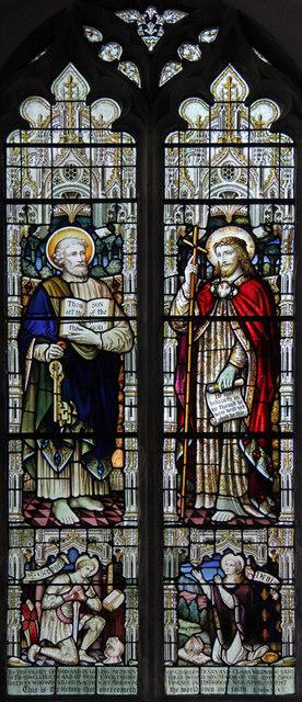 St Nicholas, Bradwell - Stained glass window