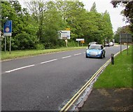 SU3521 : Eastern end of Bypass Road, Romsey by Jaggery
