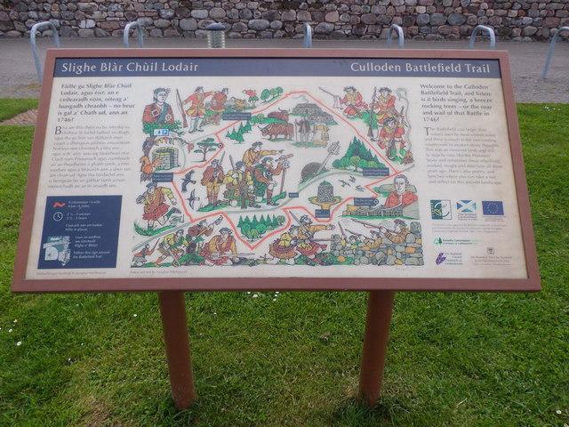 Culloden Battlefield Trail © Stanley Howe :: Geograph
