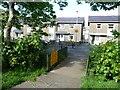 SH5639 : Footpath diversion at Isgraig, Tremadog by Christine Johnstone
