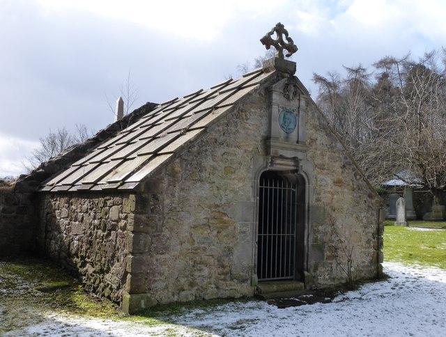 Drummond Aisle, Lasswade Old Kirkyard