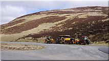 NO1485 : Layby, Glen Clunie by Richard Webb