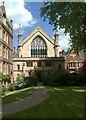 TQ3181 : Lincoln's Inn Chapel, London WC2 by Julian Osley