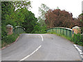 TM0134 : Bridge over the Stour near Boxted Mill by Roger Jones
