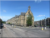 NT2572 : The junction of Marchmont Terrace and Marchmont Road, Edinburgh by Graham Robson