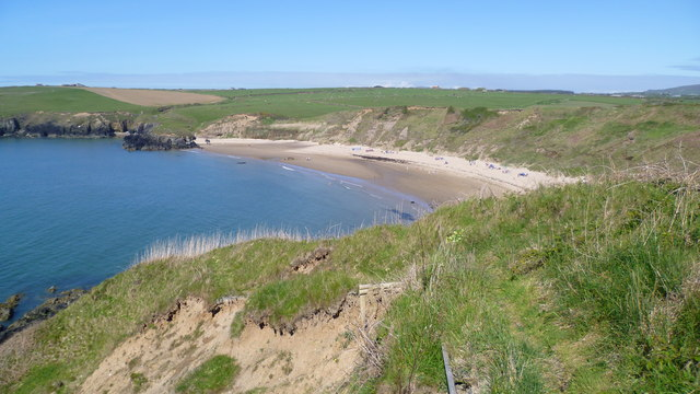 View to Porth Oer / Whistling Sands on Lleyn from the Wales Coast Path