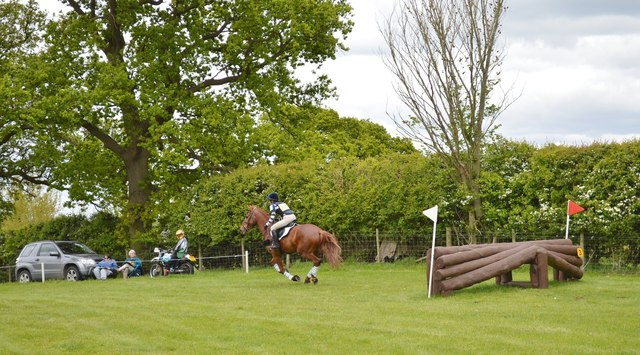 Brand Hall Horse Trials: cross-country obstacles: Twister