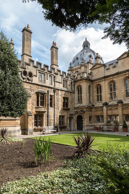 Garden, Brasenose College, Oxford