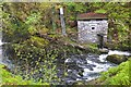 NY3203 : Hydroelectric plant at Colwith Force by Jim Barton
