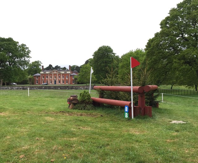 Brand Hall Horse Trials: cross-country obstacles: corner