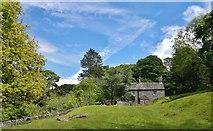 SK2579 : Yarncliffe Lodge near Grindleford by Chris Morgan