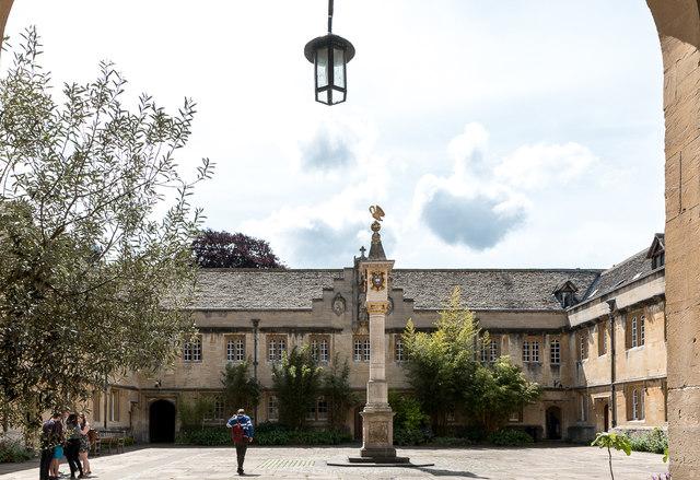 Quadrangle, Corpus Christi College, Merton Street, Oxford