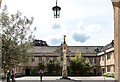 SP5106 : Quadrangle, Corpus Christi College, Merton Street, Oxford by Christine Matthews