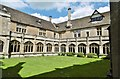 ST9168 : Lacock Abbey, cloisters by Mike Faherty