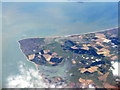 SZ8595 : Selsey Bill from above Bognor Regis by M J Richardson