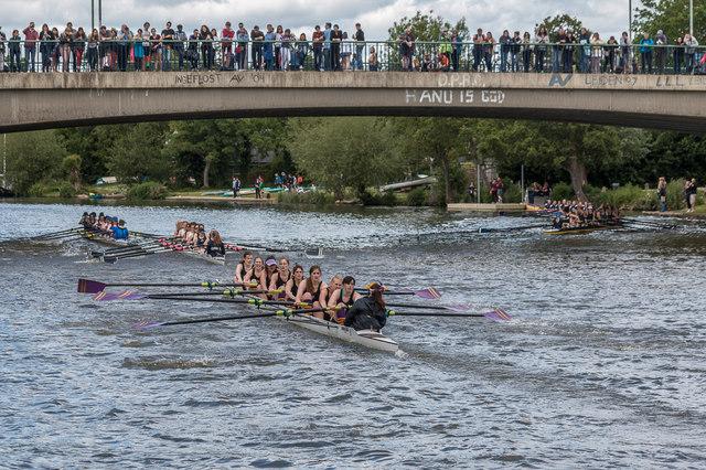 Bump Race, River Thames, Oxford