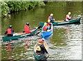 J3268 : Canoes, Shaw's Bridge, Belfast (June 2015) by Albert Bridge