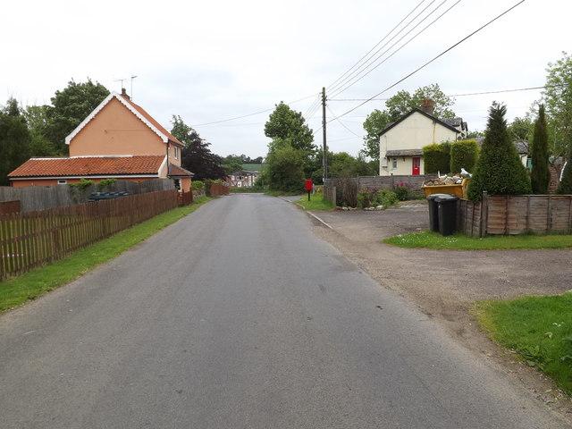 All Saints Road & 6 Creetings Bottom Postbox