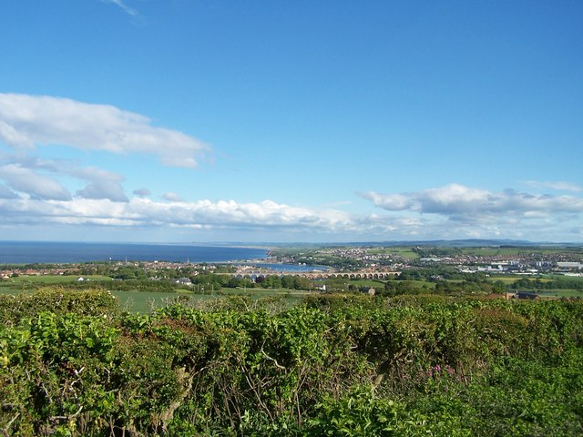View of Berwick-upon-Tweed