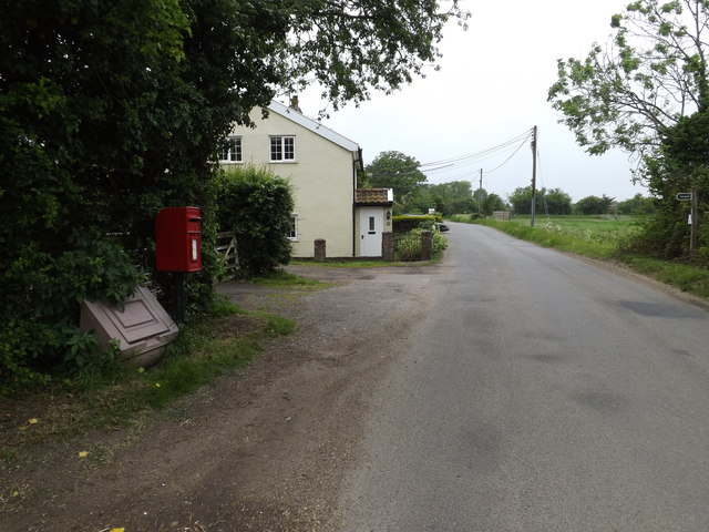 All Saints Road & 1 Red Houses Postbox