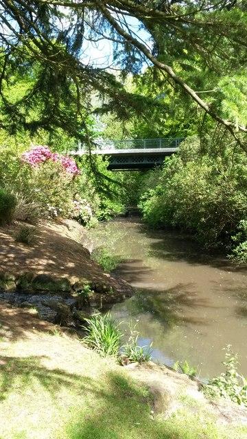 River Jordan and iron bridge, Sefton Park