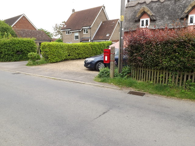 12 All Saints Road Postbox