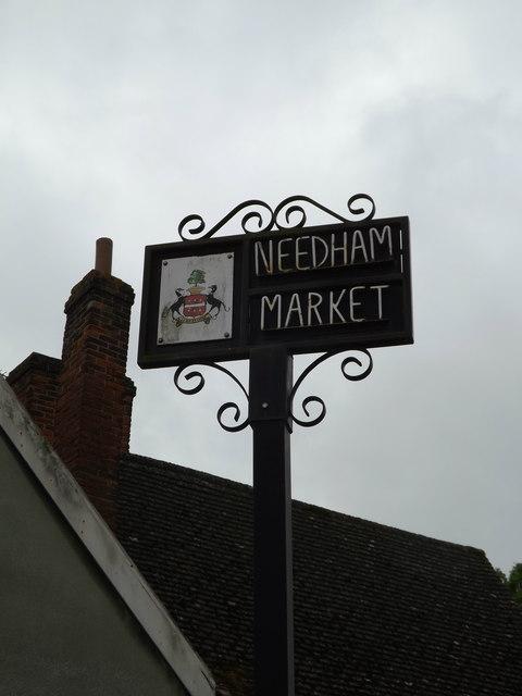 Needham Market Town sign