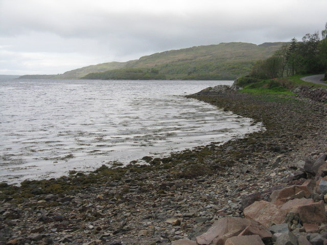 Shore of Loch na Cille
