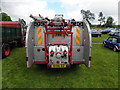 H3682 : Dennis Fire Truck (rear view) by Kenneth  Allen