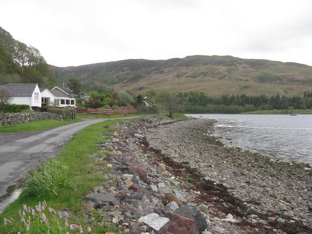 Loch na Cille shore