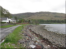 NM8312 : Loch na Cille shore by M J Richardson