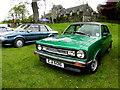 H3682 : Morris car, Baronscourt by Kenneth  Allen