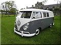 H3682 : VW Camper van by Kenneth  Allen