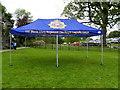 H3682 : Irish Regiment tent, Baronscourt by Kenneth  Allen