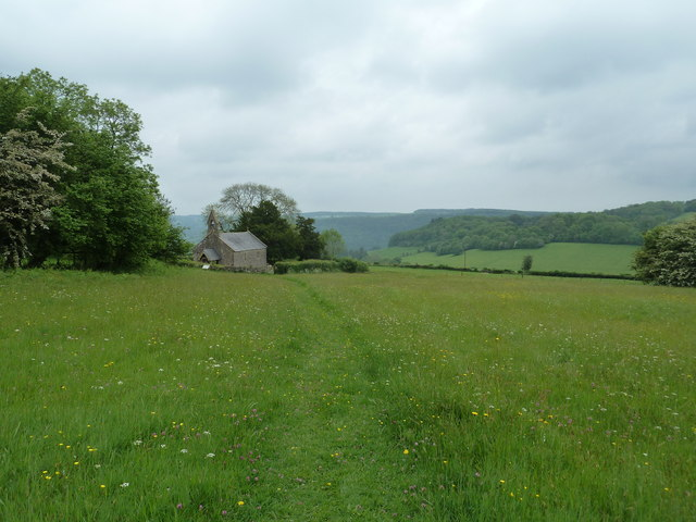 Penterry Church above Tintern in the Wye Valley