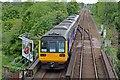 SJ9291 : Northern Rail Class 142, 142038, Bredbury railway station by El Pollock