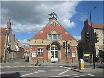 SK5993 : Old public library, Tickhill by John Slater