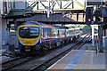 SJ8499 : First TransPennine Class 185, 185106, Manchester Victoria railway station by El Pollock