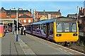 SD5805 : Northern Rail Class 142, 142043, platform 1, Wigan Wallgate railway station by El Pollock