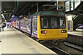 SJ8499 : Northern Rail Class 142, 142009, platform 3, Manchester Victoria railway station by El Pollock