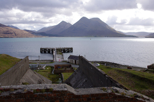 Raasay Iron Works and Suisnish Pier