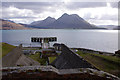 NG5534 : Raasay Iron Works and Suisnish Pier by Ian Taylor
