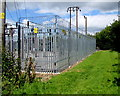 ST6010 : Yetminster  electricity substation by Jaggery