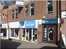 SU6351 : Charity shop in Wote Street by Sandy B