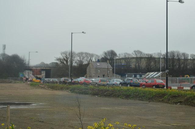 Traffic queueing, A683
