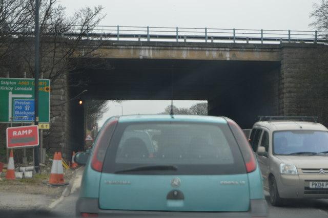 M6 Bridge, A683